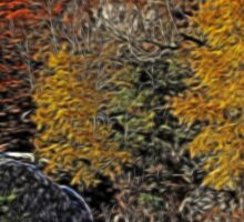 Fall Colors Airbrush Sticker