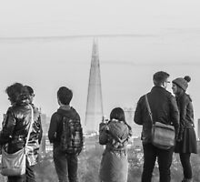 London landmarks by John Violet