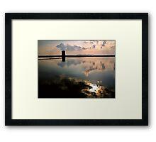 Torre saline Framed Print