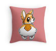 Ichabutt Throw Pillow
