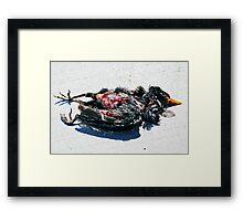 Dead Framed Print