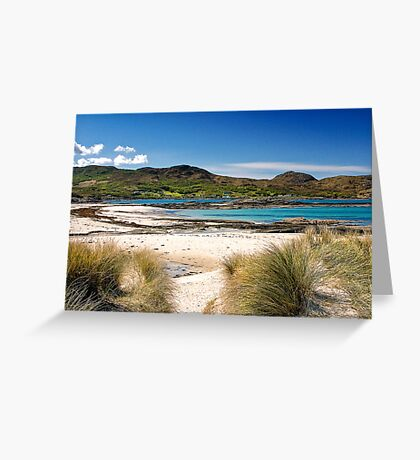 Sanna Sands Ardnamurchan Greeting Card