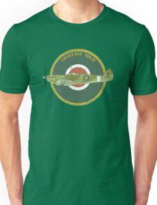 RAF MKII Spitfire Vintage Look Fighter Aircraft Unisex T-Shirt
