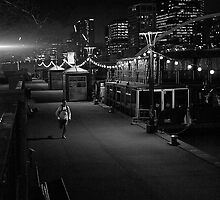 Don't walk! RUN... by John Holding by Shot in the Heart of Melbourne, 2013