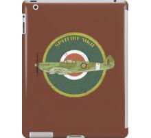 RAF MKII Spitfire Vintage Look Fighter Aircraft iPad Case/Skin