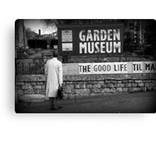 Searching For The Good Life Canvas Print
