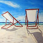 Beach Chair Breeze by gillsart