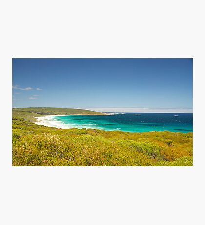 Aqua Marine Bay Photographic Print