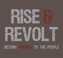 Rise, Revolt & Return America by Sarah  Eldred