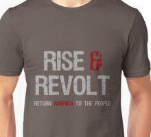 Rise, Revolt & Return America Unisex T-Shirt