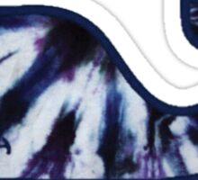 Tie-Dye Whale Sticker
