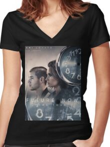 Future Now The Tour Demi Lovato Nick Jonas Gunahad03 Women's Fitted V-Neck T-Shirt
