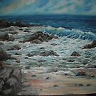 ROCKY BEACH by Stan  Brookfield