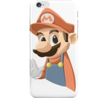 Mr Mario iPhone Case/Skin