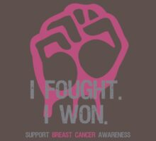 Fought & Beat Breast Cancer Awareness by Sarah  Eldred