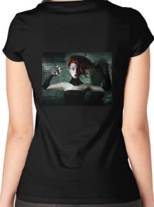 Agitato Hysterium Women's Fitted Scoop T-Shirt