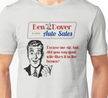 Funny Used Car Salesman Shirts Unisex T-Shirt