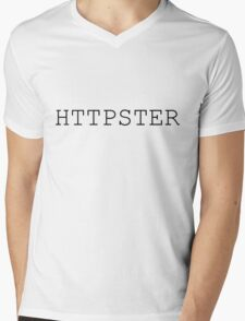 Httpster (regular) Mens V-Neck T-Shirt