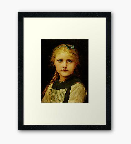 Tearless Children Framed Print