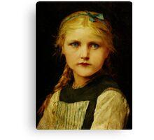 Tearless Children Canvas Print