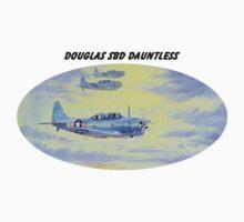 Douglas SBD Dauntless Aircraft One Piece - Long Sleeve
