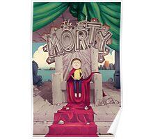 The Good Morty - Rick and Morty Shirt Poster