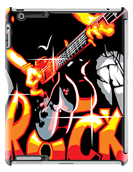 rock out by behindsky