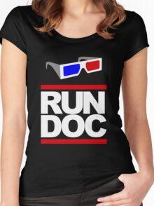 RUN - D.O.C. Women's Fitted Scoop T-Shirt