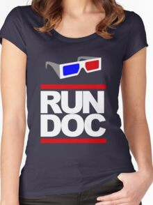 RUN - D.O.C. Women's Fitted Scoop T-Shirt