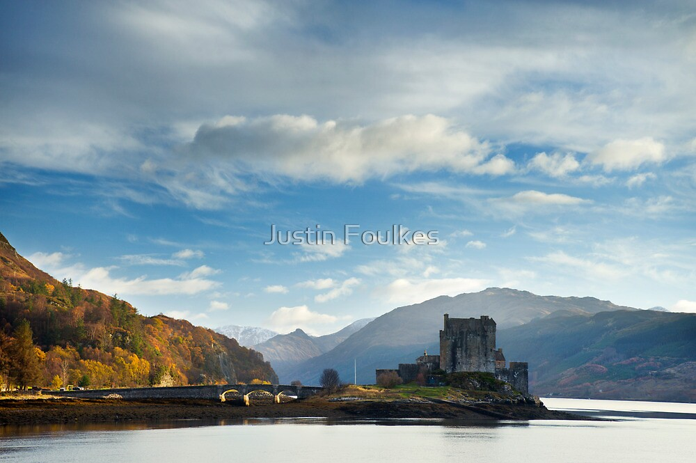 Eilean Donan Castle, Scotland. by Justin Foulkes