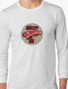Vintage Feel Lucky Seven Cobra Classic Sports Car Long Sleeve T-Shirt