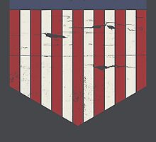 Mega City One flag by Emma Harckham