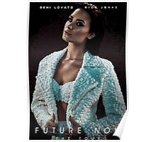 Future Now The Tour Demi Lovato Nick Jonas Gunahad04 Poster