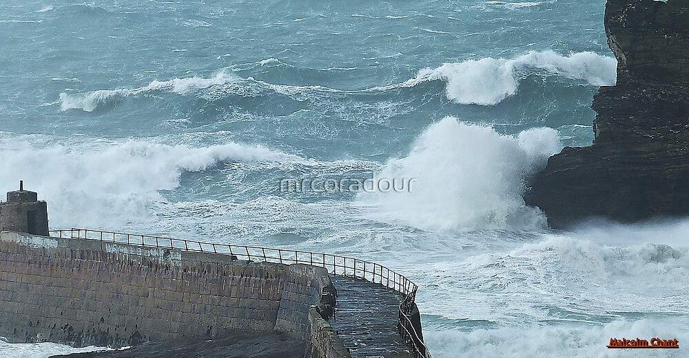 """"""" Stormy Sea """" by Malcolm Chant"""