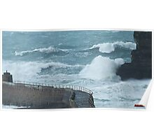""""""" Stormy Sea """" Poster"""