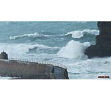 """ Stormy Sea "" Photographic Print"