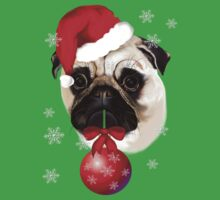 A Very Merry Christmas Pug by Lotacats