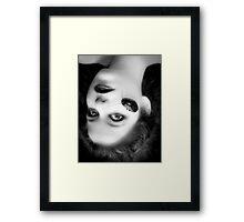 Teenage film noir Framed Print