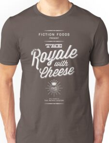 The Royale with Cheese - white Unisex T-Shirt