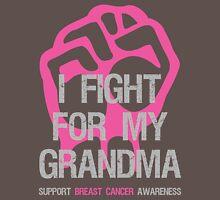 I Fight Breast Cancer Awareness Grandma Unisex T-Shirt