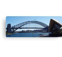 Sydney Harbour Bridge & Opera House Canvas Print