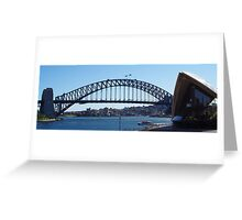 Sydney Harbour Bridge & Opera House Greeting Card