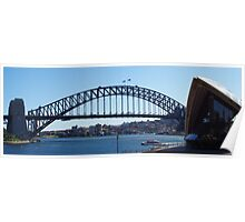 Sydney Harbour Bridge & Opera House Poster