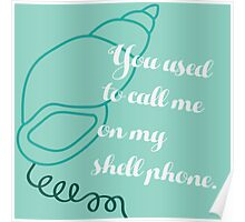 Shell Phone Poster