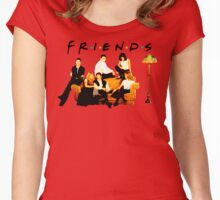 That's what friends are for Women's Fitted Scoop T-Shirt