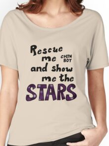 Rescue me chin boy Women's Relaxed Fit T-Shirt