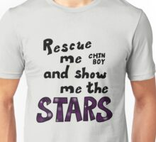 Rescue me chin boy Unisex T-Shirt