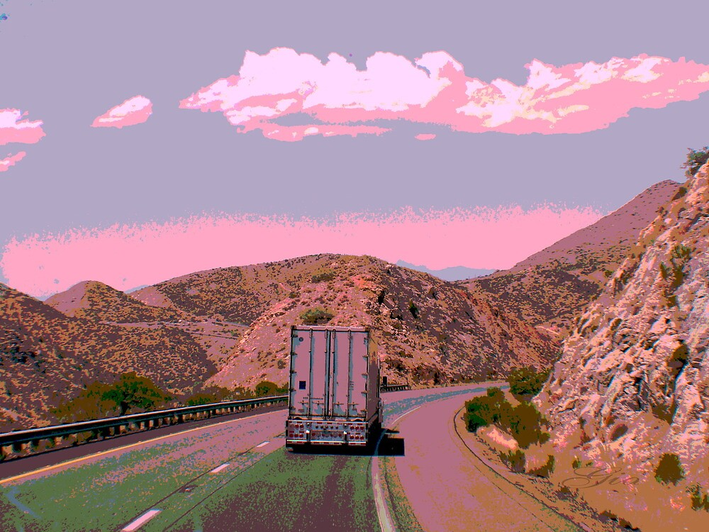 """ On The Road Again "" ~ A Trucker's Life by Gail Jones"