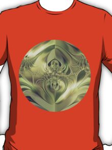 Metallic Leaves T-Shirt