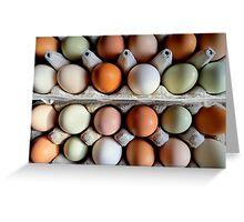The Incredible Edible Egg...Fresh Pickins Greeting Card